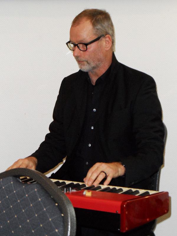 Martin Lelgemann am E-Klavier