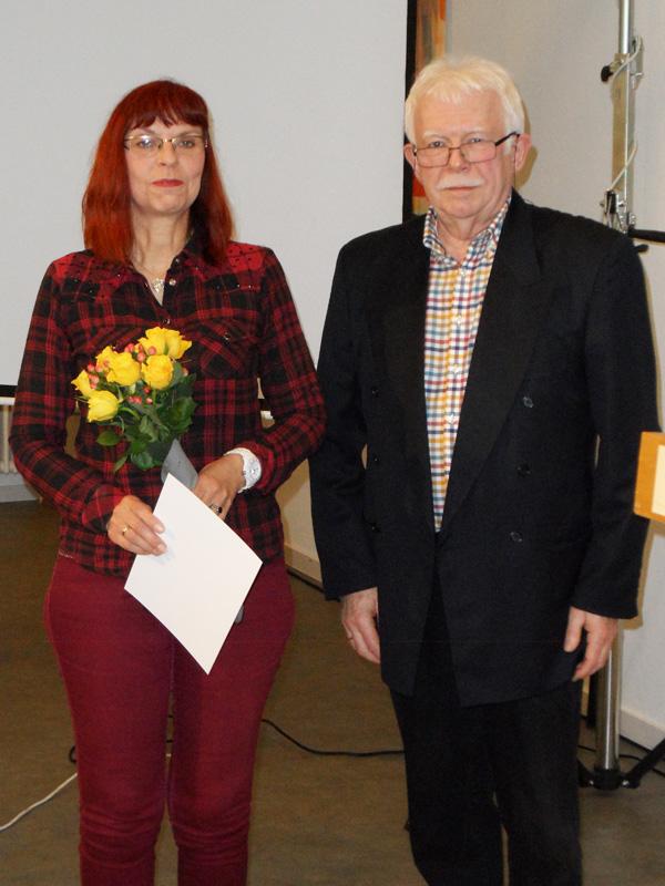 Ehrung für 25 Jahre Mitgliedschaft: Marianne Modner