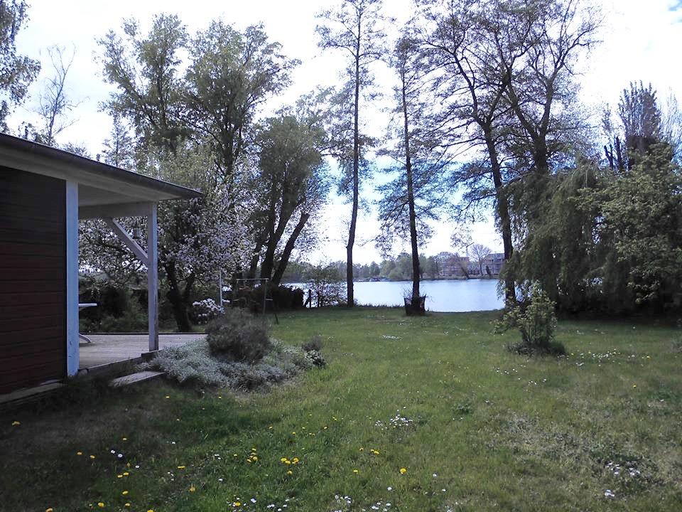 Großes Wassergrundstück in Werder