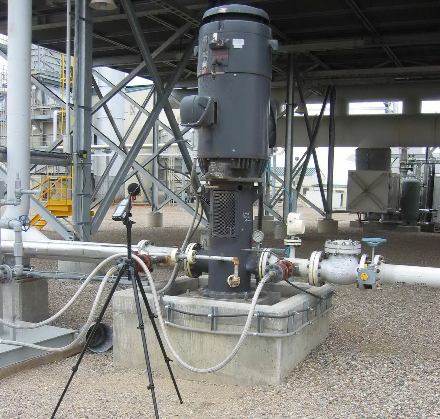 Sound Level Measurements of Refinery Equipment