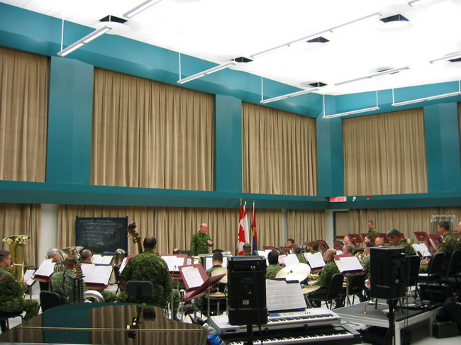 Royal Canadian Military Band Practice and Recording Studio