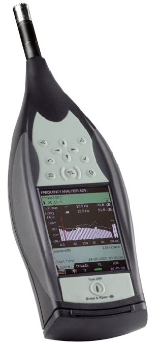 Bruel and Kjaer Sound/Vibration Meter