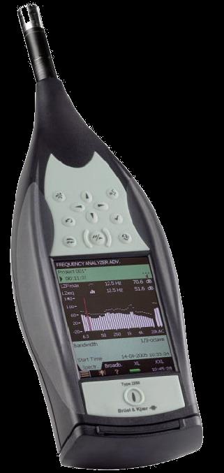 Bruel and Kjaer Sound/Vibration Meter