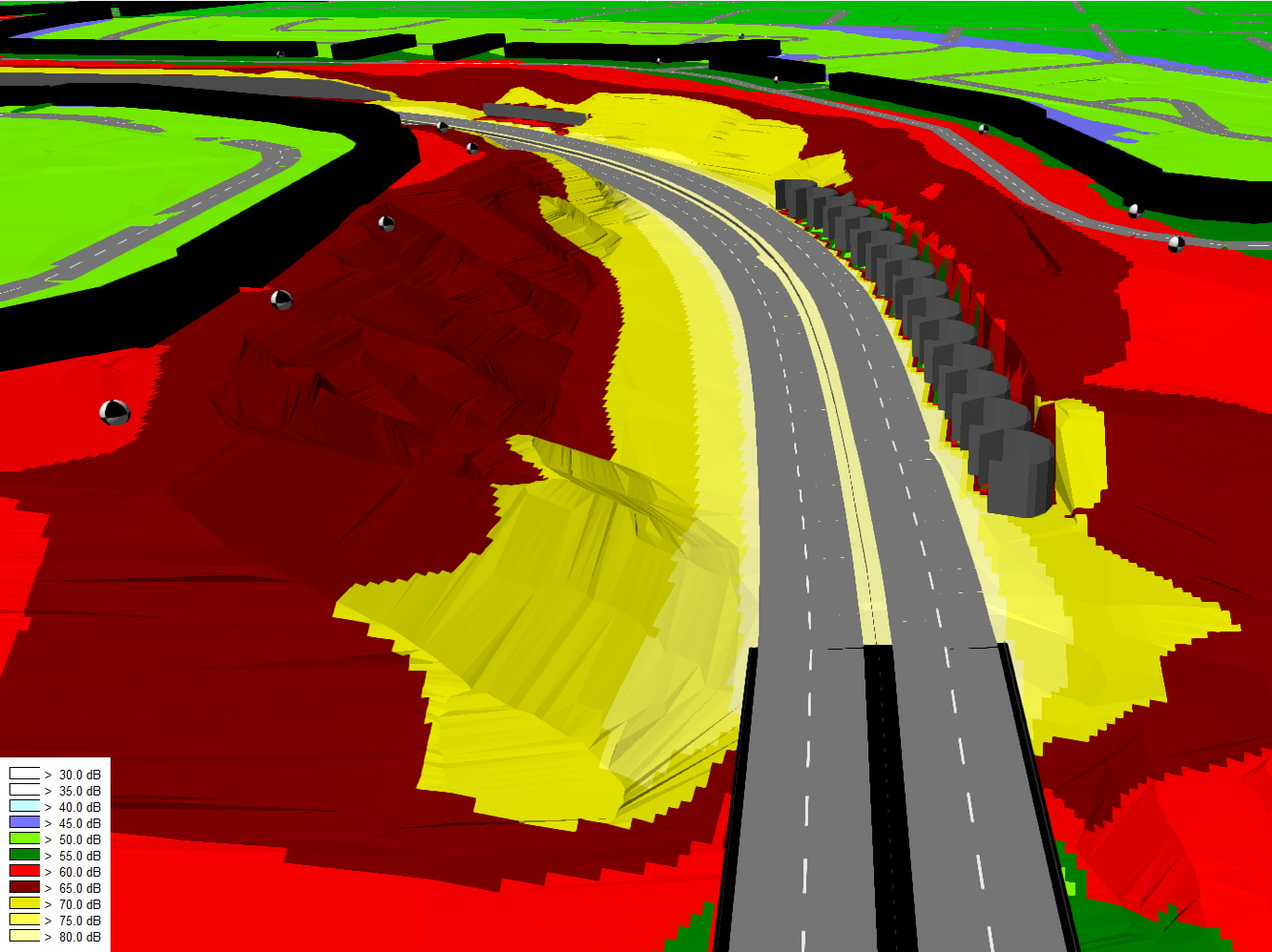 Whitemud Drive Quesnell Bridge Widening Noise Model