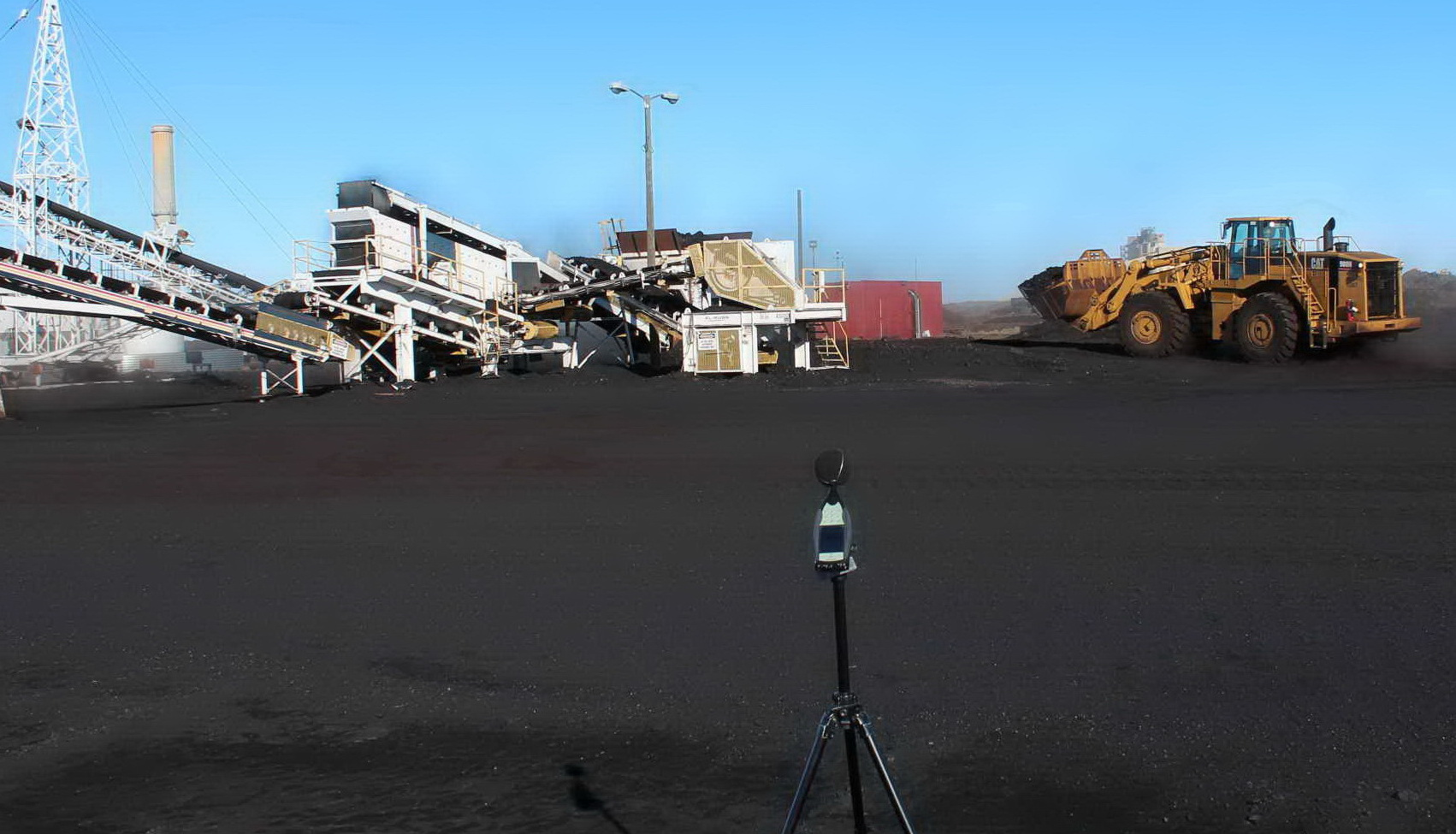 Noise Measurements of Coal Crushing Operation