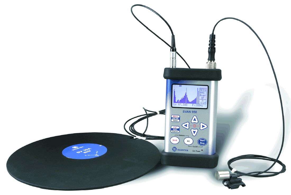 SVAN 958 Vibration Monitor