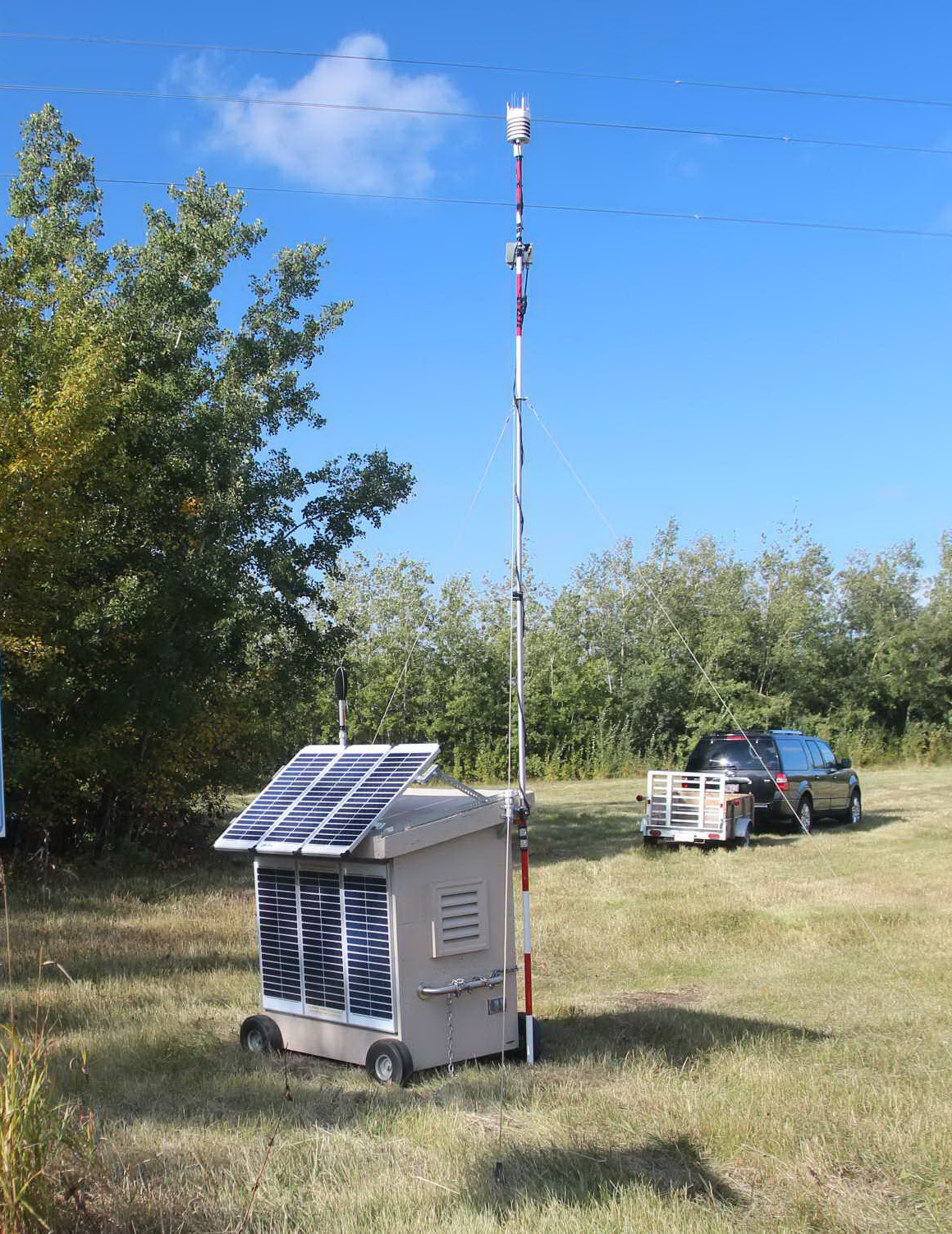 Long-Term Noise and Weather Monitoring Shelter