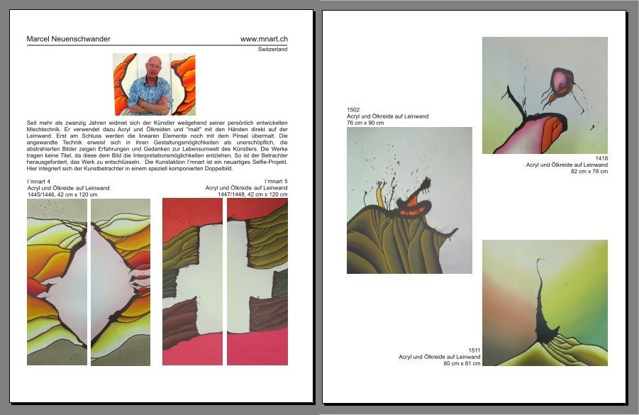 awarded art international, Vol. 2  2016, Seite 42-43