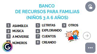 BANCO DE RECURSOS (3 a 6 años)