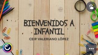BIENVENIDOS A INFANTIL