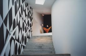 Wandmalerei für die Verner Panton Ausstellung im Vitra Design Museum, Weil am Rhein