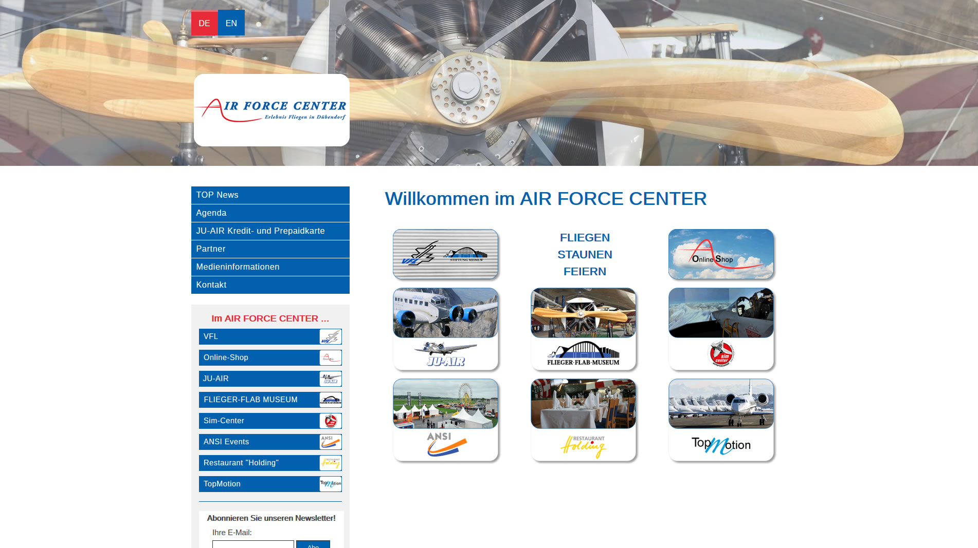 AIR FORCE CENTER