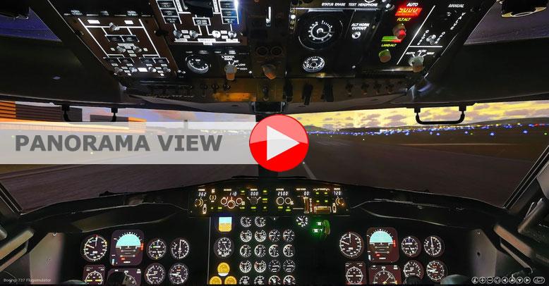 Virtual 360° Panorama B-737 Simulator - Simcenter im AIR