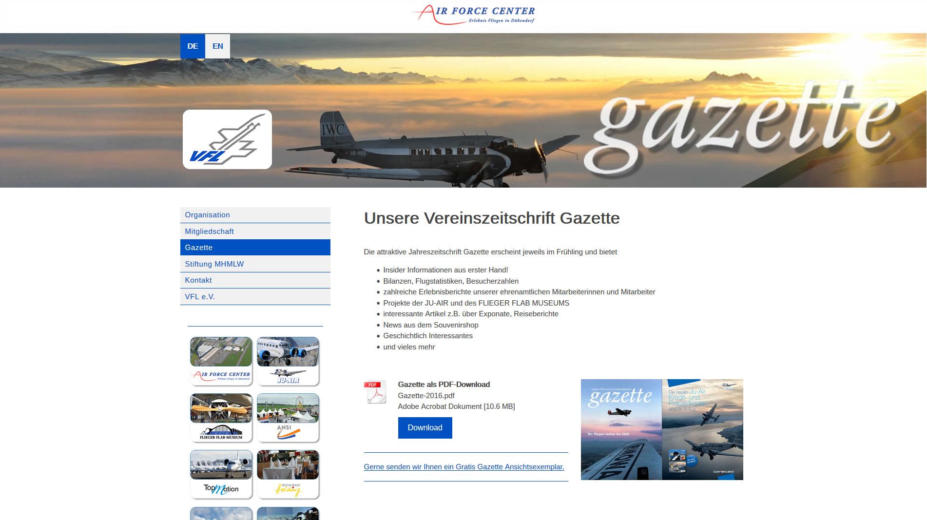 Verein der Freunde der Schweizerischen Luftwaffe