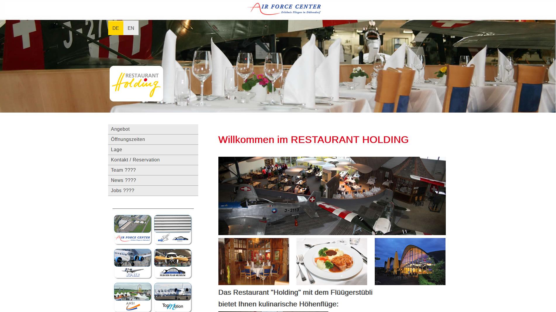 """Restaurant """"Holding"""""""