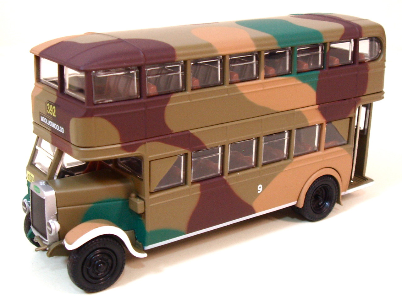 Denning double decker for sale - Tx3e Leyland Td1 Camouflage