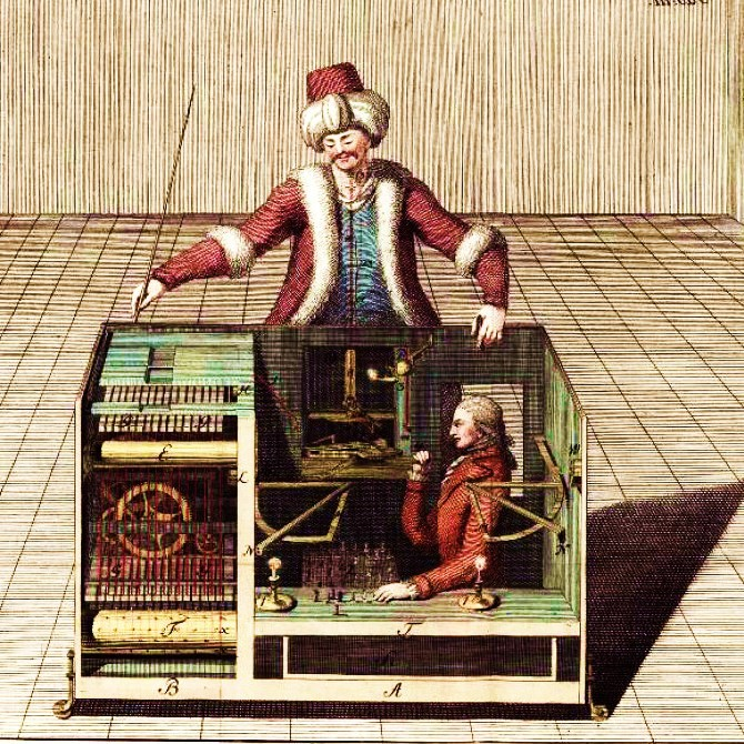 The  Mechanical Chess-Turk