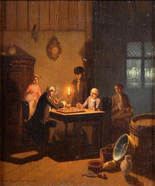 Johan Mengels Culverhouse 1820 - 1891