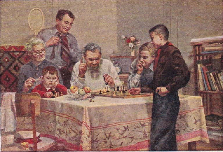 Soviet Artist 1952