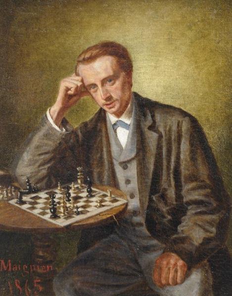 Charles Ambroise Napoleon Maignien 1865