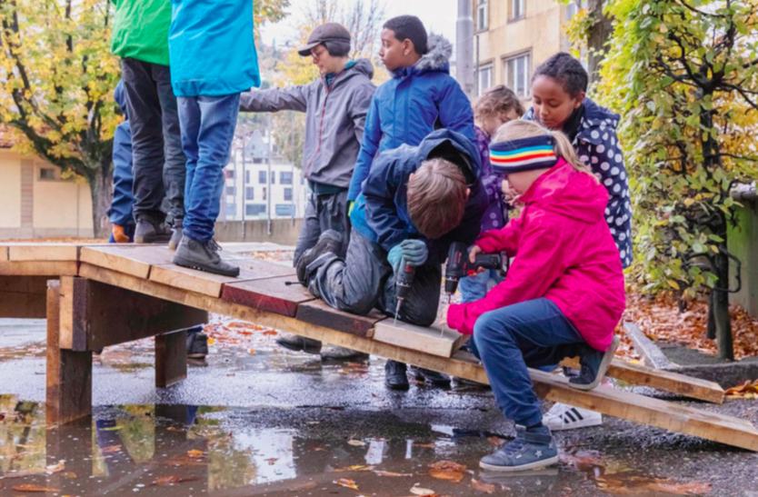 Schüler bezwingen den Dufoursee