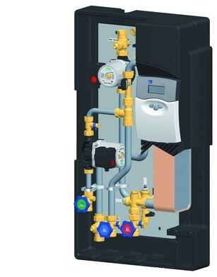modulo acqua sanitaria di Solar hoch 2