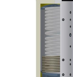 accumulatore combinato per l'igiene di Solar hoch 2