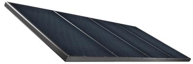 collettore con telaio in alluminio di Solar hoch 2
