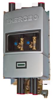 cassetta di distribuzione con EDS REGA UNIVERS - geotermia di Solar hoch 2