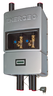 Geothermie Erdsondenverteilerkasten REGA UNIVERS mit EDS basic von Solar hoch 2