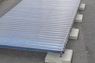 Befestigungssets für Röhrenkollektoren von Solar hoch 2