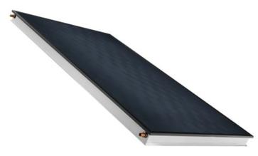 collettore con telaio in alluminio sunWin di Solar hoch 2