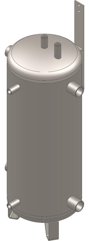 Pufferspeicher Standard ohne Wärmetauscher von Solar hoch 2