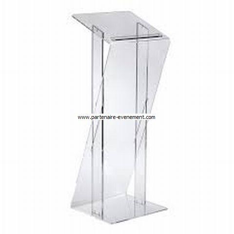 Pupitre plexiglass