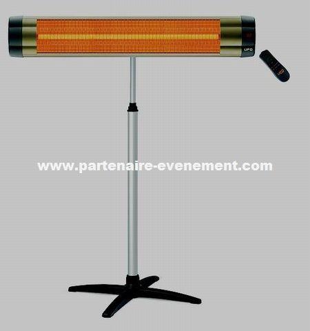Chauffage radiant électrique