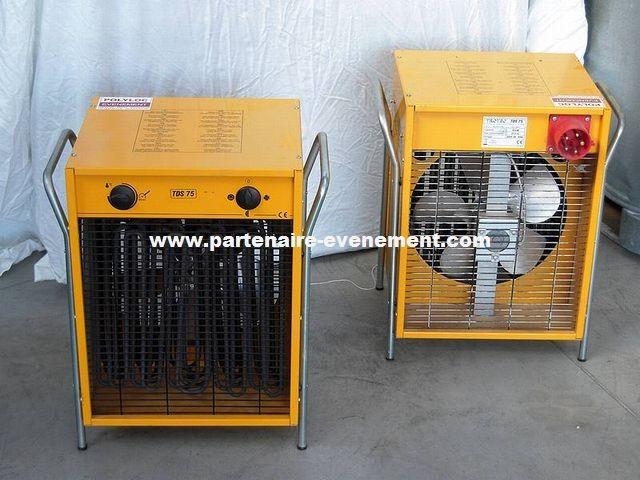 Aérotherme électrique