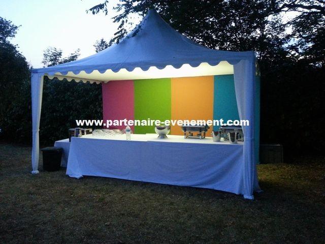 Tente buffet 5x3