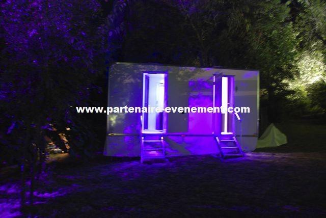 Eclairage LED caravane