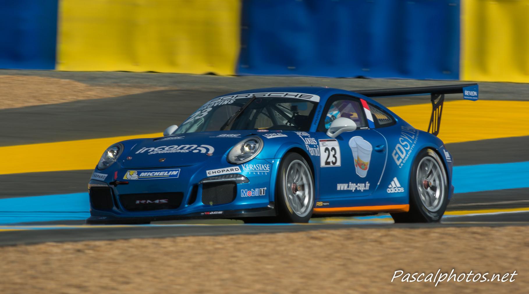 Porsche Carrera Cup , 24 heures du mans 2014
