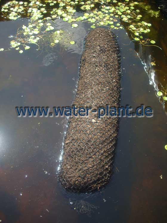 Xylitwalzen sind kompakte Konstruktionselemente für Uferbefestigungen