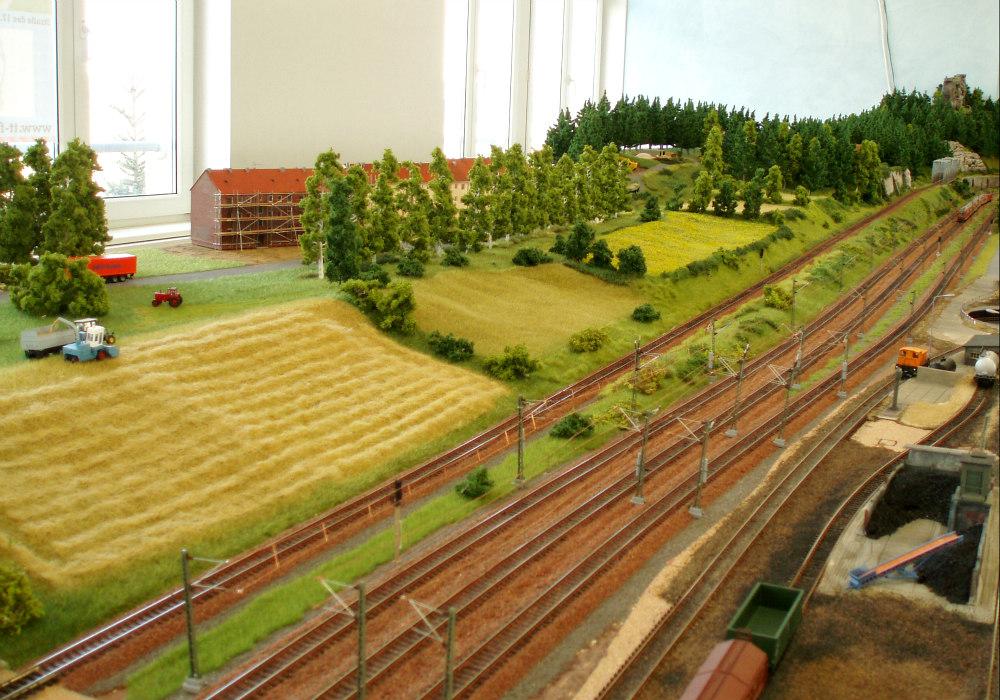 Bautagebuch: Baustellen und Felderwirtschaft- der 3. Teil der TT-Schauanlage