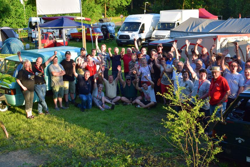 Ape-Treffen in Poppenweiler 2017