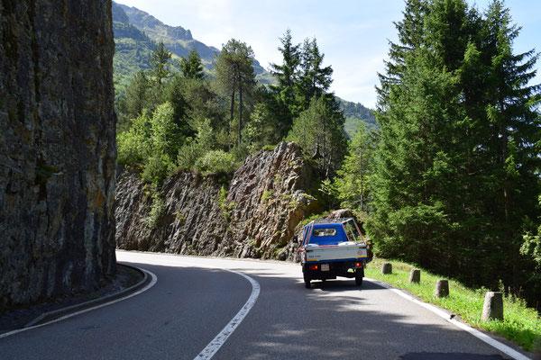 Die Drüradbrüedere sind unterwegs am Sustenpass