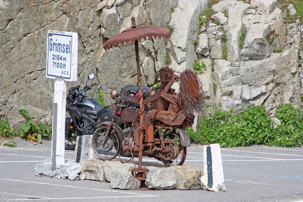 Die Drüradbrüedere sind unterwegs am Grimselpass