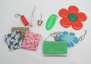 小物製品(キーホルダー、ストラップ、ワッペン等)