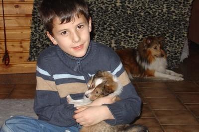 Tristan mit Jasper