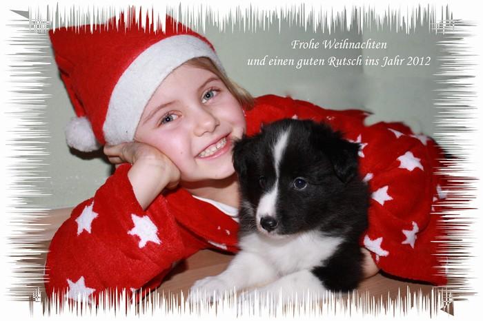 Liebe Weihnachtswünsche von Julia aus Österreich