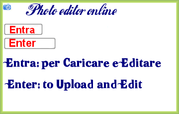 Photo editor online * gratis