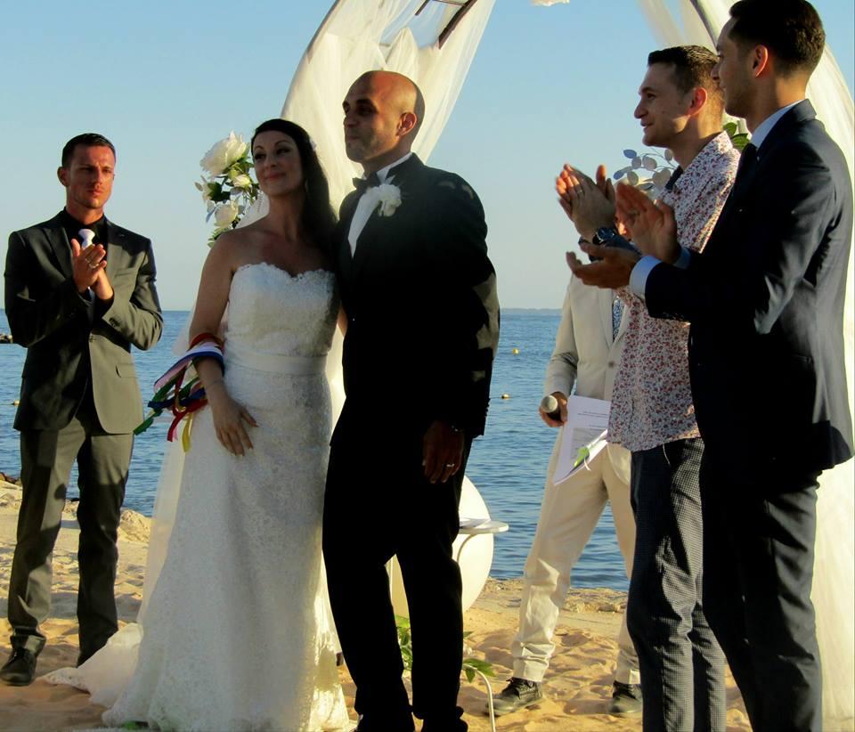 cérémonie laique sur la plage ,bay star , saint-laurent-du-var(06)