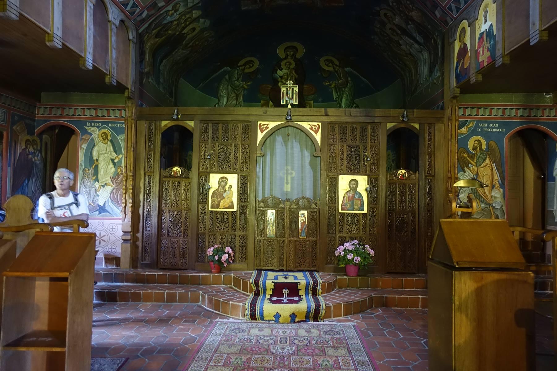 Aubazine : chapelle byzantine